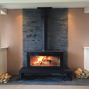 Stovax Studio 2 Freestanding Fitted In Oldham