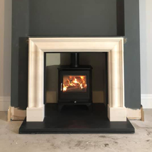 Chesneys Salisbury 5 Series Stove fitted in Cheshire