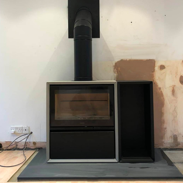 Contura Stoves installed in Cheshire