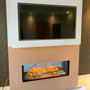 Flamerite Glazer 1000 Electric Fire